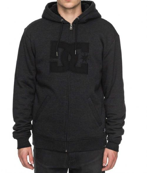 DC SHOES MENS SHERPA HOODY.STAR FUR LINED HOODED JACKET HOODIE TOP J 7W 320 KVJO